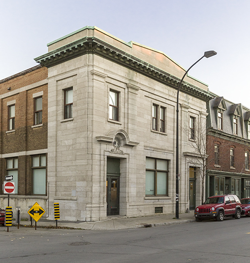 The Guido Molinari Foundation Building, 3290 St. Catherine Street East (at Darling).