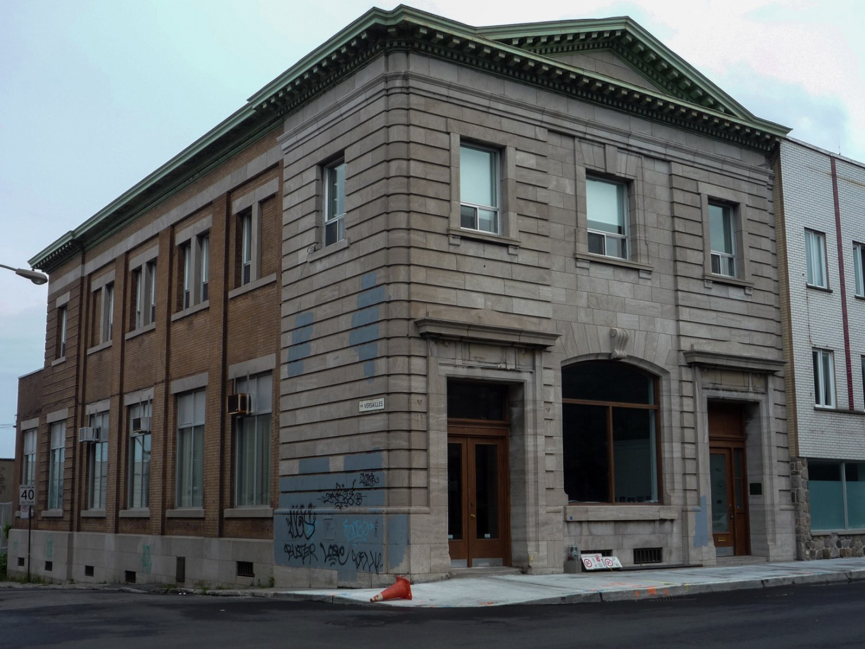 A Bank in Hochelaga - Fondation Guido Molinari